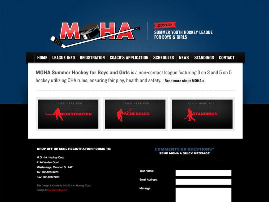 MOHA Hockey